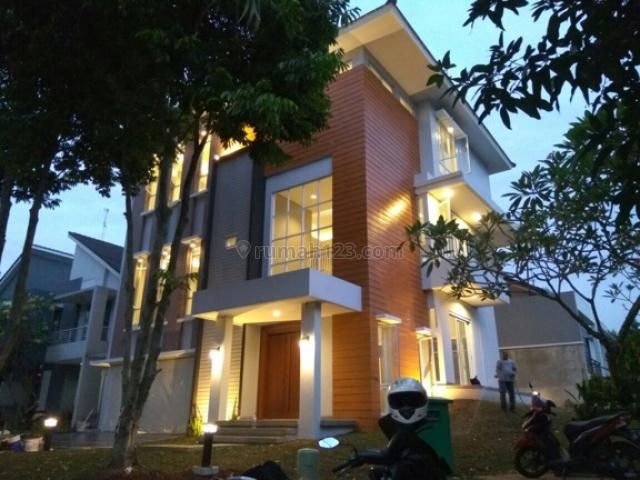 rumah baru minimalis hook taman centro Havana latinos BSD, BSD Delatinos, Tangerang