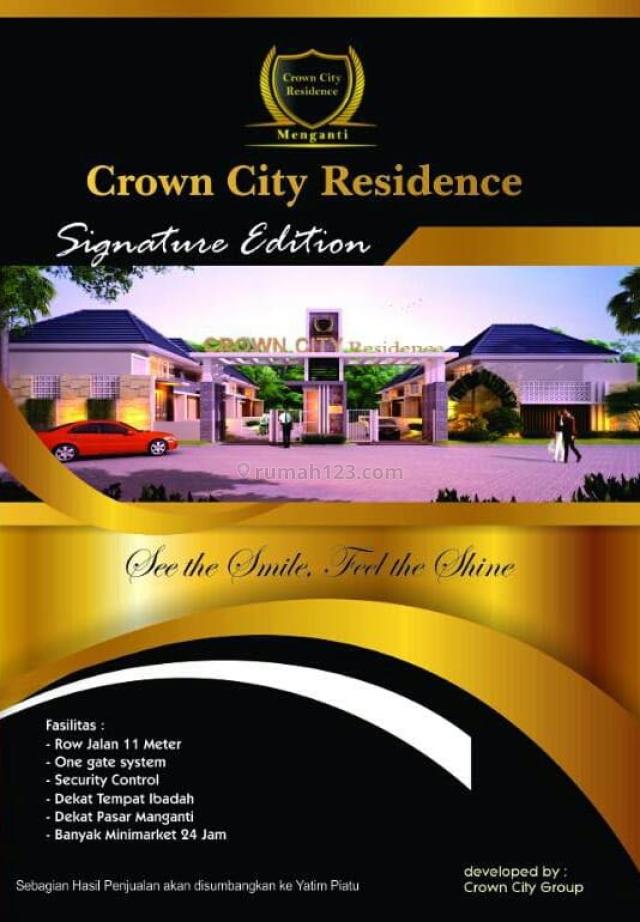 rumah crown city residence menganti minimalis baru, menganti, gresik
