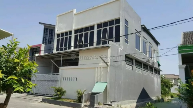 Rumah Pojok Di Sidosermo PDK 2Lantai Cocok Untuk Kantor, Wonocolo, Surabaya
