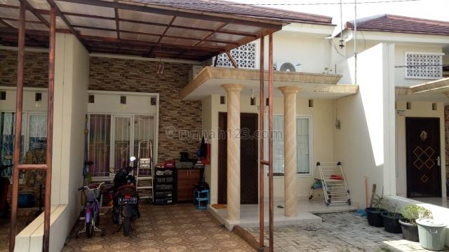 Rumah asri di dalam cluster, Pondok Gede, Bekasi
