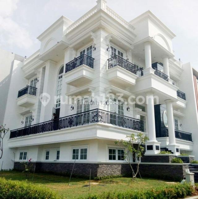 Rumah Brand New Americana Classic , Full Marmer, Pantai Indah Kapuk, Jakarta Utara
