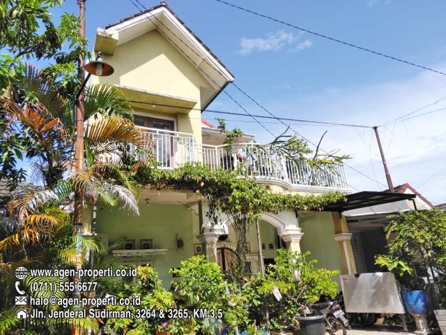 Rumah 2 Lantai Strategis di Komplek Griya Siguntang Palembang, Ilir Barat I, Palembang