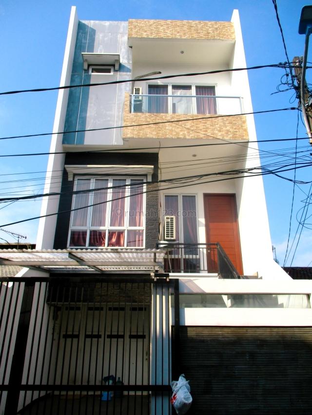 rumah baru minimalis 6x17 kt 4 1 janur kuning kelapa gading, kelapa gading, jakarta utara