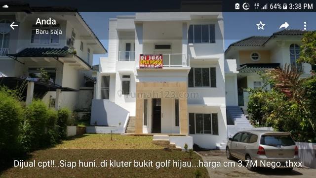 Rumah Cantik Minimalis siap Huni, Sentul City, Bogor