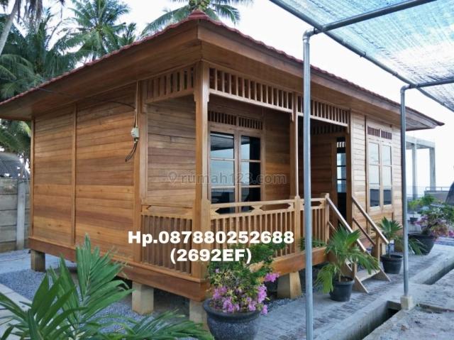 Villa/Rumah Kayu dipantai Belinyu Bangka (2692EF), Riau Silip, Bangka
