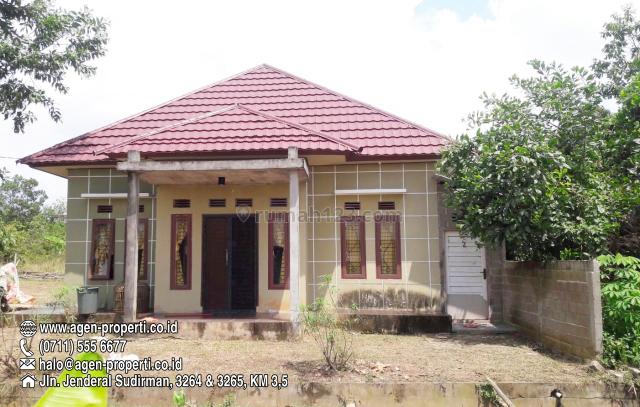 Rumah Murah Siap Huni di km 14 Tanah Mas Palembang, Banyuasin II, Banyuasin
