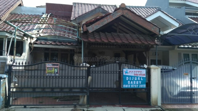 Rumah dijual 1 lantai, 2 kamar hos4072332 | rumah123.com