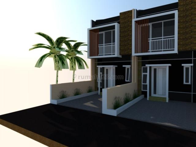 Rumah Baru 2  lantai di jatisampurna lokasi strategis selangkah dri mercubuana, Jatisampurna, Bekasi