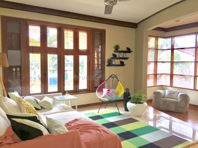 FURNISHED 3BEDROOM IN A COMPOUND WITH SHARED POOL, Cipete, Jakarta Selatan