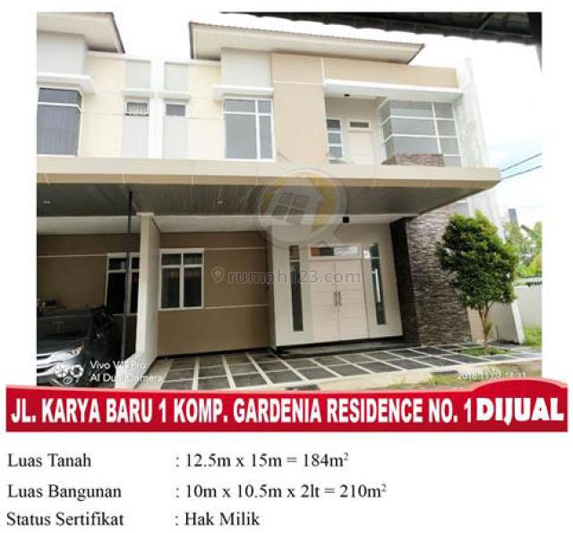 Rumah Gardenia Residence Karya Baru, Pontianak Kota, Pontianak