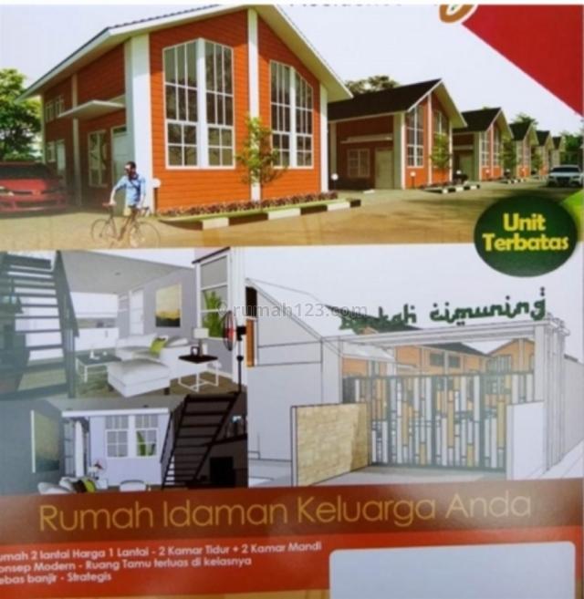 Rumah murah cantik di cimuning bekasi, Cimuning, Bekasi