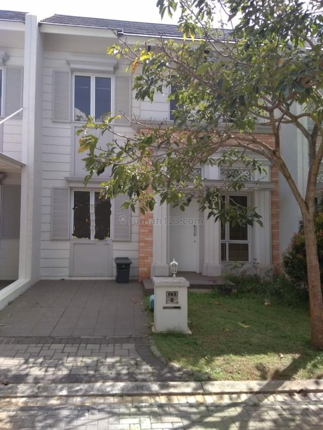 Rumah Cantik Nan Asri di Bsd City Greenwich Cluster Hylands( miri 2602), BSD City, Tangerang