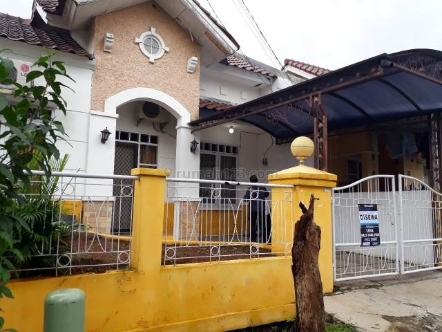 rumah bersih n terawat, BSD Villa Melati Mas, Tangerang