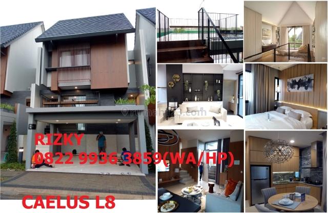Cluster Caelus Rumah Mewah dengan Attic Room di Greenwich Park BSD City, BSD City, Tangerang