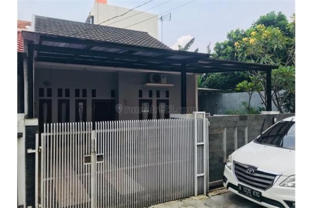 Rumah second dalam cluster sangat murah di purigading pondok melati bekasi, Jatimelati, Bekasi