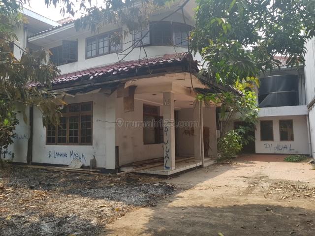 Rumah di Jalan Sisingamangaraja, Senayan, Jakarta Selatan
