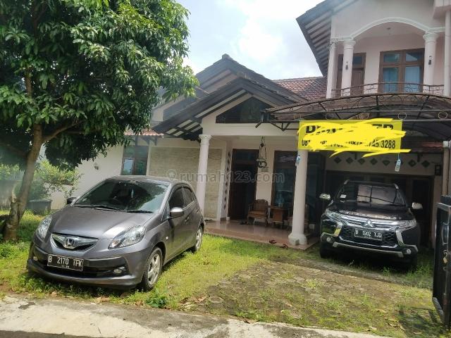 rumah luas bagus dan asri di cijantung jakarta timur, Cijantung, Jakarta Timur