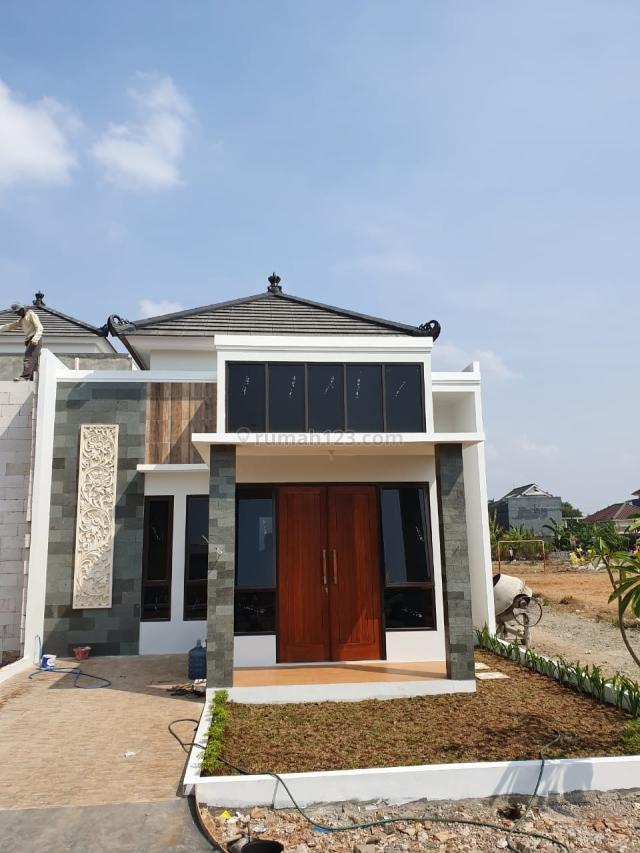 Rumah Cibubur Mewah Konsep Bali Strategis  Hanya 5 Menit dari Pintu Tol Cibubur, Cibubur, Depok