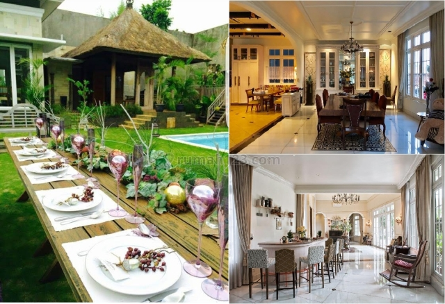 LUXURY AMERICAN STYLE HOUSE BSD TERRACE GOLF 100% FULL FURNISHED + POOL + FISH POND + SAUNA + GYM + LIBRARY MARTHA STEWARD STYLE ( RUMAH MEWAH AMERICAN KLASIK MARTHA STEWARD SYLE ) JAKARTA INDONESIA, BSD Bukit Golf, Tangerang
