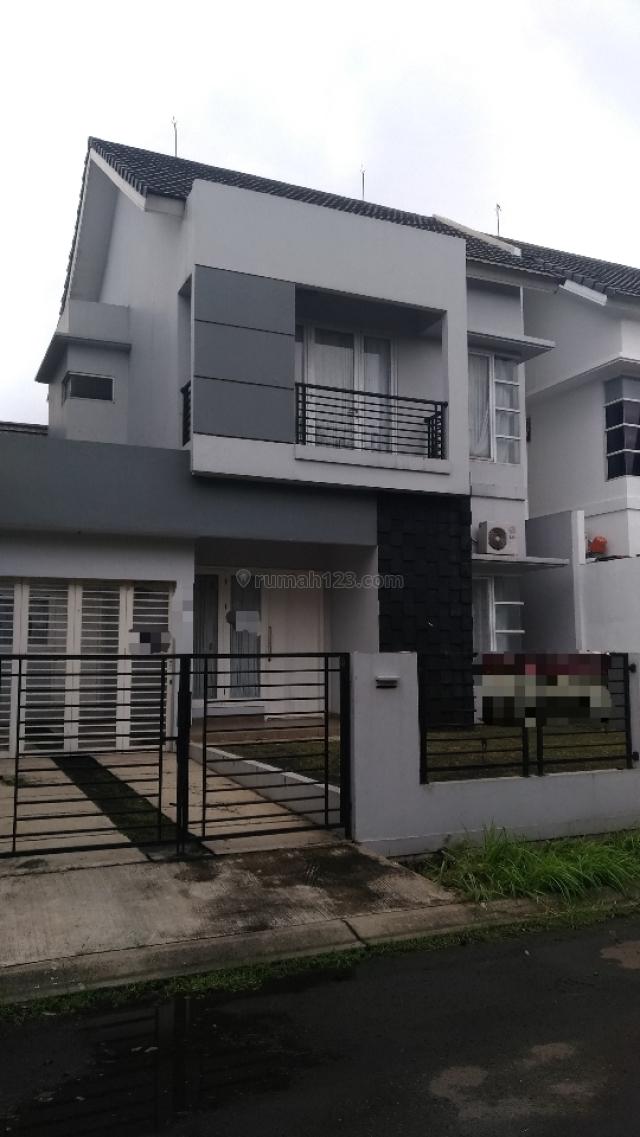 Rumah minimalis 2 lt Melati Mas, BSD Villa Melati Mas, Tangerang