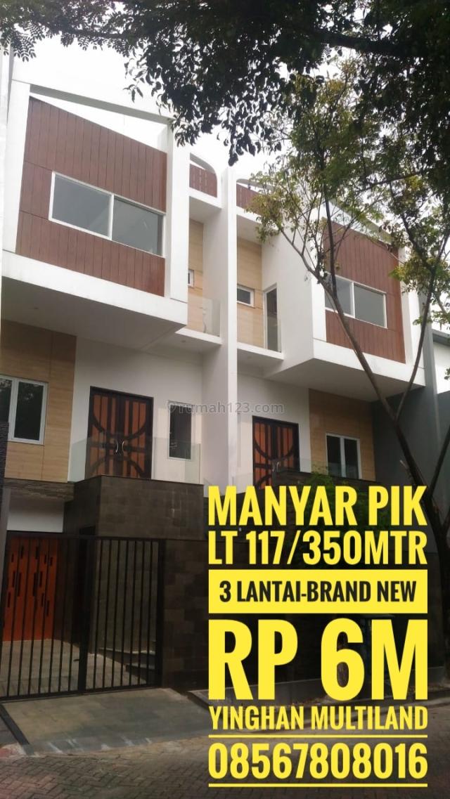 Rumah Manyar Permai - PIK - Jakarta Utara, Pantai Indah Kapuk, Jakarta Utara