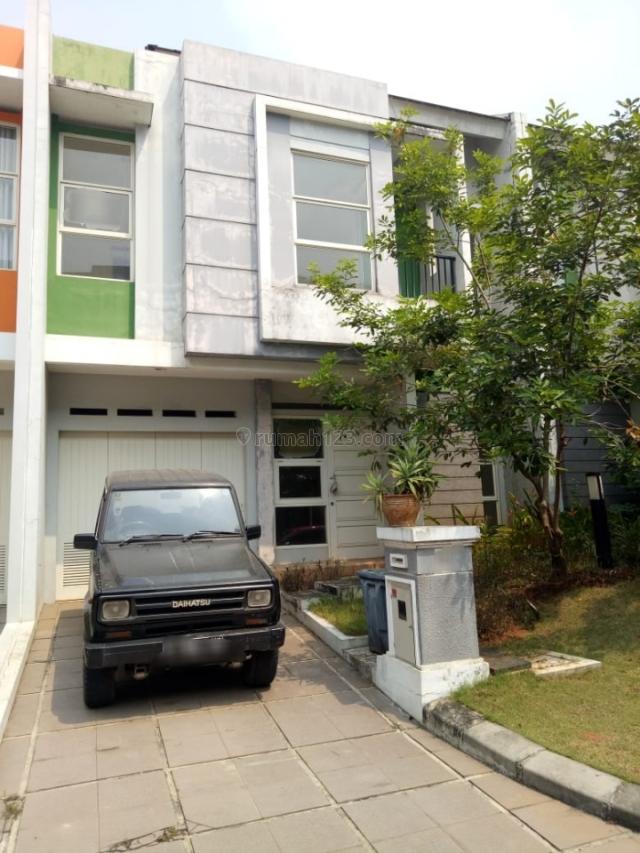 Rumah Baru Siap Huni, Gading Serpong Scientia Garden, Tangerang
