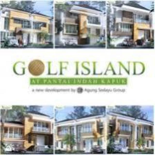 Rumah Golf Island Uk 6x15 m2 at Pantai Indah Kapuk Siap Huni, Pantai Indah Kapuk, Jakarta Utara