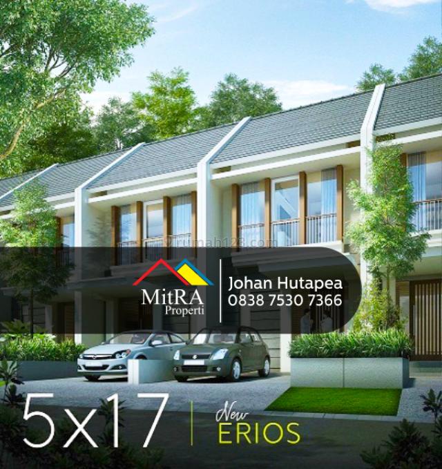 Rumah dalam Perumahan modern di Joglo Jakarta Barat, Kreo, Tangerang