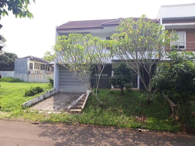 Rumah besar siap dihuni, BSD Telaga Golf, Tangerang