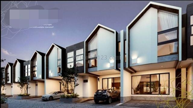 Rumah Town House baru di Sarua modern minimalis dan dinamis  (KODE :MT03200419), Serua, Tangerang