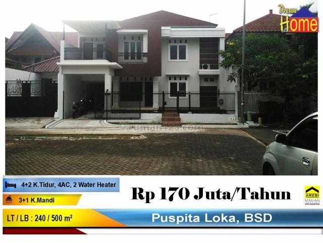 WTR !! Rumah Mewah Siap Huni di Puspita Loka BSD, BSD Puspita Loka, Tangerang