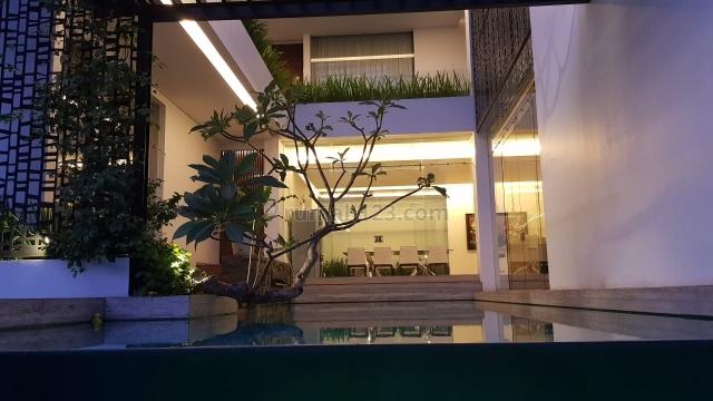 rumah mewah model minimalis tropis +pool, Pantai Indah Kapuk, Jakarta Utara