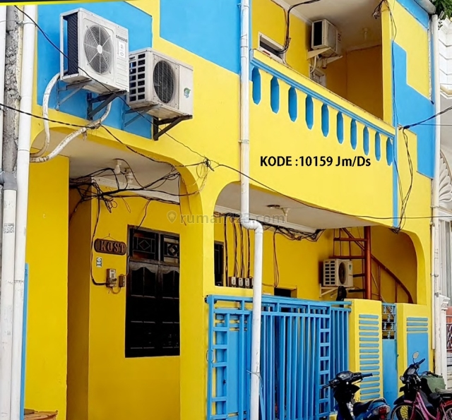 KODE :10159(Jm/Ds) Rumah Kosan Pademangan, Luas 100 Meter, Pademangan, Jakarta Utara