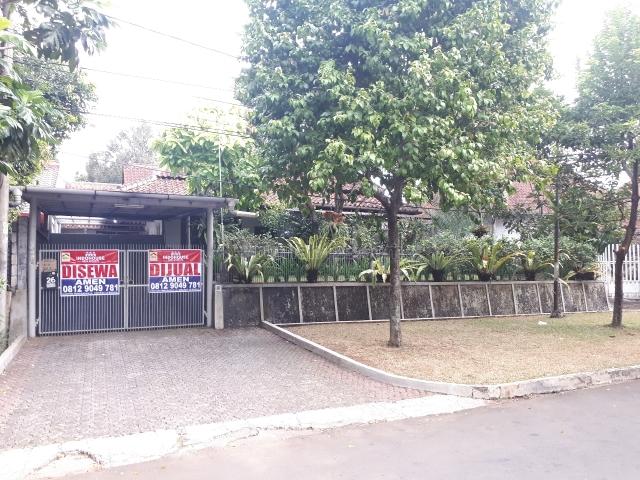 Rumah kolonial di mentengnya bogor taman kencana, Taman Kencana, Bogor