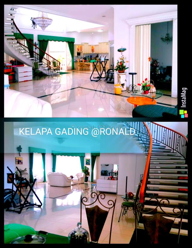 GOOD LISTING!! VILLA GADING INDAH 20X25 FULL FURNISH KELAPA GADING, Kelapa Gading, Jakarta Utara