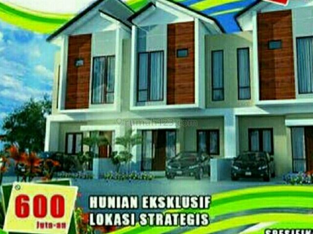 Rumah Mewah 2 Lantai Cantik dan Asri, Lengkong Kulon, Tangerang