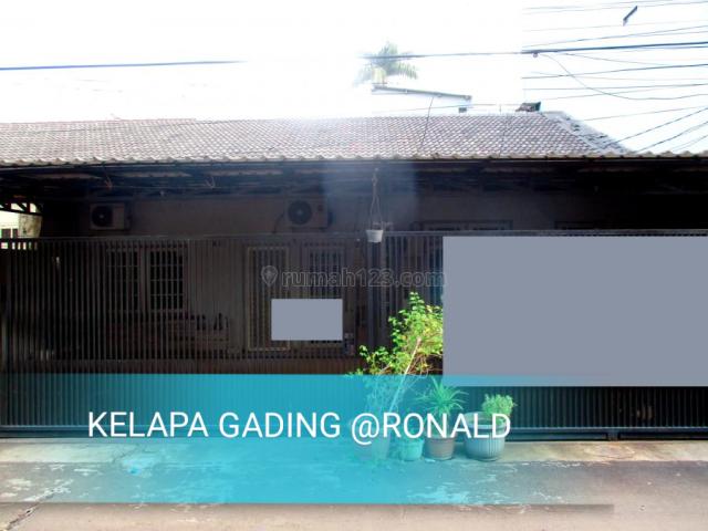 BARANG LANGKA! RUMAH TUA GANDENG 12X17 KELAPA NIAS KELAPA GADING, Kelapa Gading, Jakarta Utara