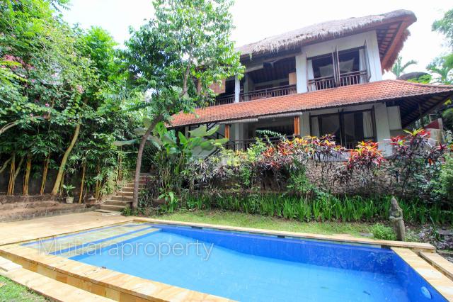 RE-067   2 storey villa in munggu - only the sound of nature!, Munggu, Badung
