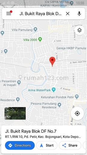 RUMAH HITUNG TANAH MURAH SAWANGAN, Sawangan, Tangerang