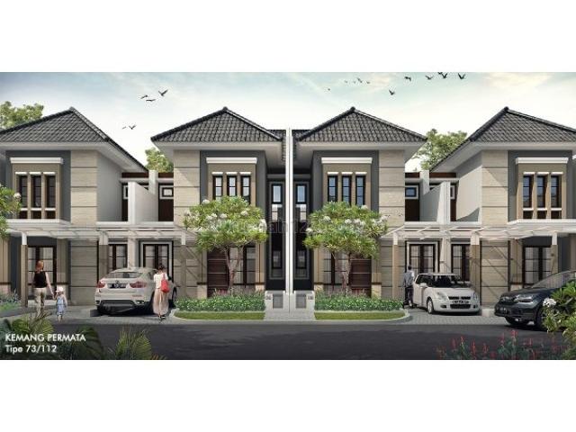 Rumah Cluster Kemang Permata Lokasi Strategis di Perumahan Bogor Raya MD704, Babakan Madang, Bogor