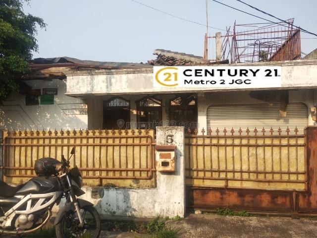 Tanah ada rumah bahan 1 lantai di cawang jakarta timur, Cawang, Jakarta Timur