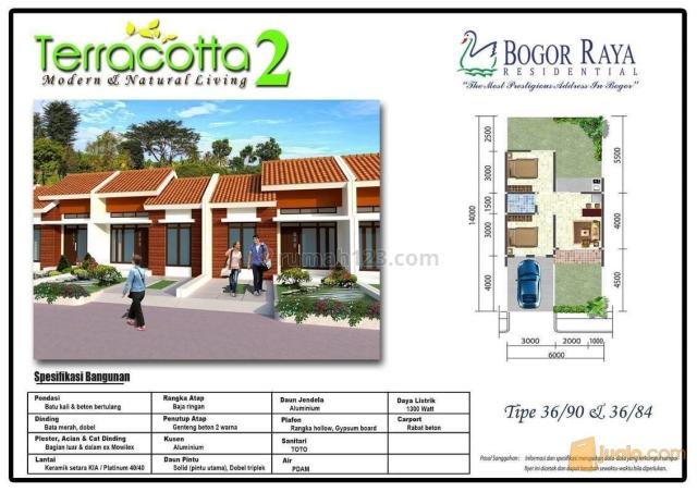 Rumah baru siap huni dengan design moderen dan cantik, Sukaraja, Bogor