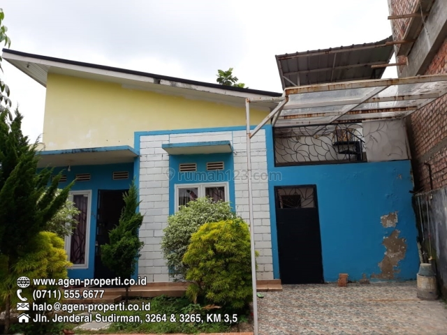 Rumah Dalam Komplek Griya Kayna, Lubuk Kawah Palembang, Sukarame, Palembang