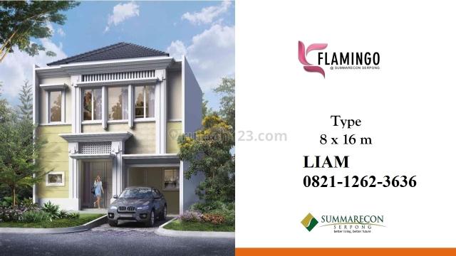 CLUSTER FLAMINGO PHASE 2 at SUMMARECON SERPONG 8x16 HARGA PERDANA !!, Cihuni, Tangerang
