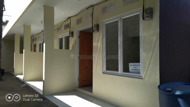 Rumah kontrakan 4 pintu, kondisi baru di dekat univ. mercubuana, Jatisampurna, Bekasi