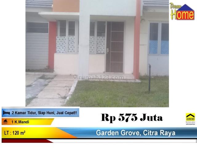 BUB ! Rumah Di Cluster Garden Grove Citra Raya, Cikupa Citra Raya, Tangerang
