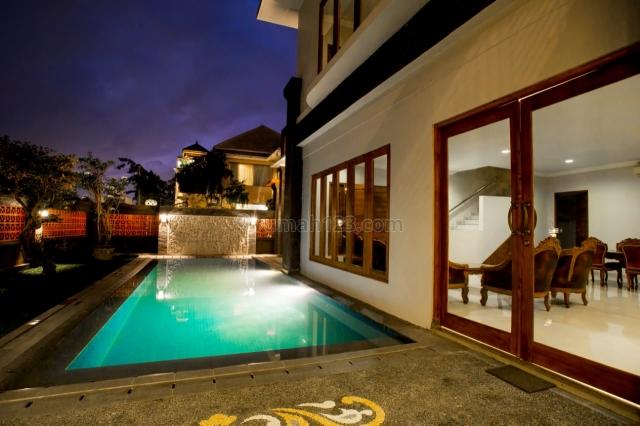 Villa/Luxury Modern Balinese Villa with Ocean and GWK View at Goa Gong, Jimbaran, Badung, Bali, Goa Gong, Badung