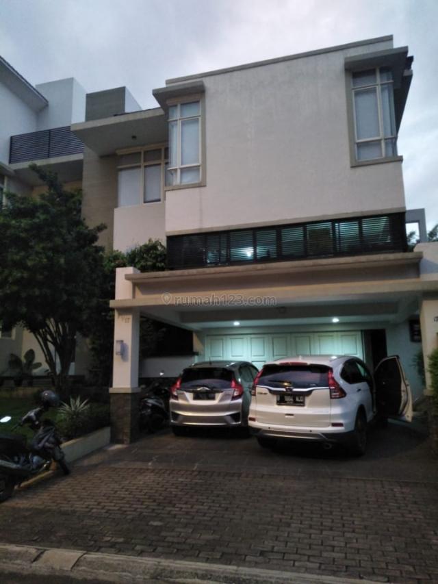 Rumah mewah design menawan, BSD Telaga Golf, Tangerang