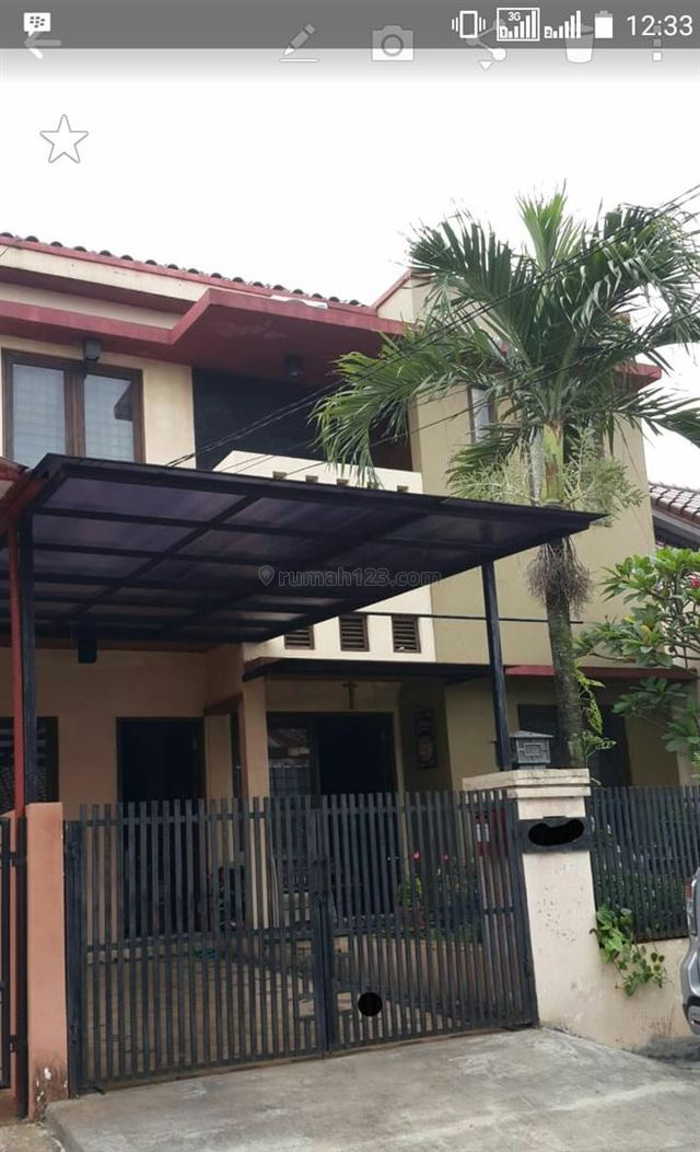 Rumah Cantik di Regency Melati Mas, Serpong, Tangerang