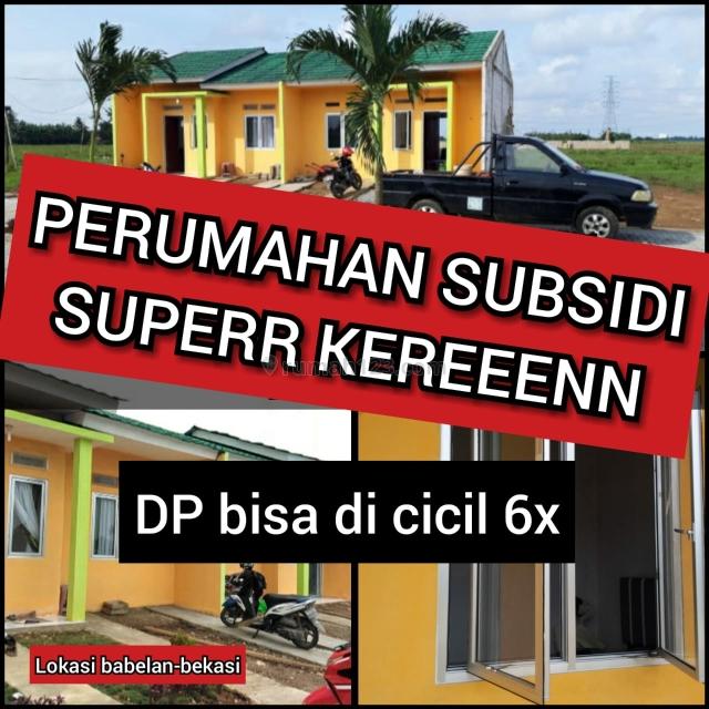 Perumaha Subsidi Strategis Sertifikat SHM Di Babelan Bekasi Utara, Babelan, Bekasi